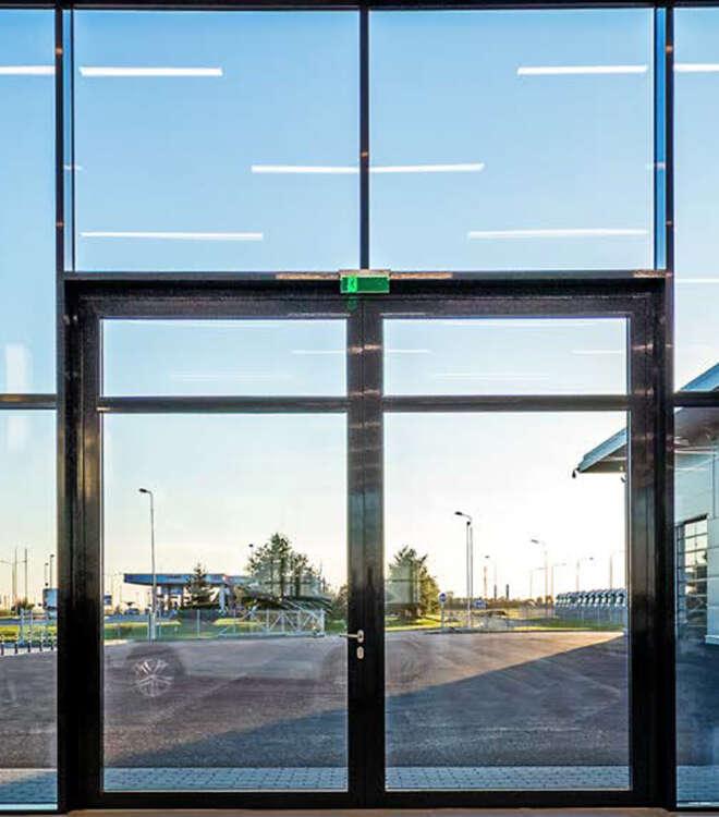 Aluminiumdörr-tollor